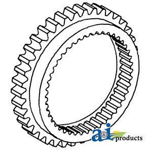 A-1686458M1 Massey Ferguson Parts GEAR 1ST SPLINED 290 UK