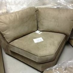 Buchanan Sofa With Chaise Floor Chairs Pottery Barn Curved Wedge Sectional Chair Upholstered Image Is Loading