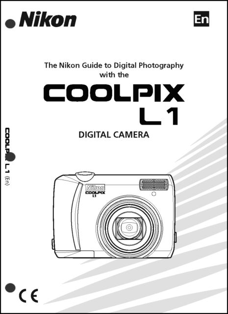 Nikon CoolPix L1 Digital Camera User Guide Instruction