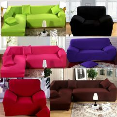 Stretch Chair Covers For Sale Container Store Chairs Soft Elastic Fabric Sofa Cover Pet Dog Sectional /corner Couch L | Ebay