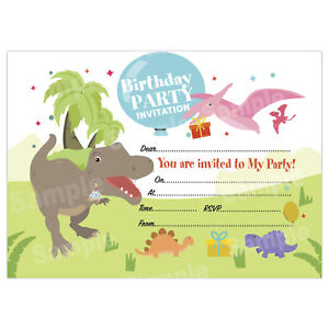 kids birthday invitations for boys or