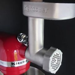 Kitchen Aid Grinder Design A Island Hightower S Meat For Kitchenaid Mixer Artisan Image Is Loading