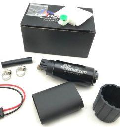 details about hi flow 255lph fuel pump 180sx 240sx sr20det s13 s14 s15 w install kit 400 766 [ 1338 x 1153 Pixel ]