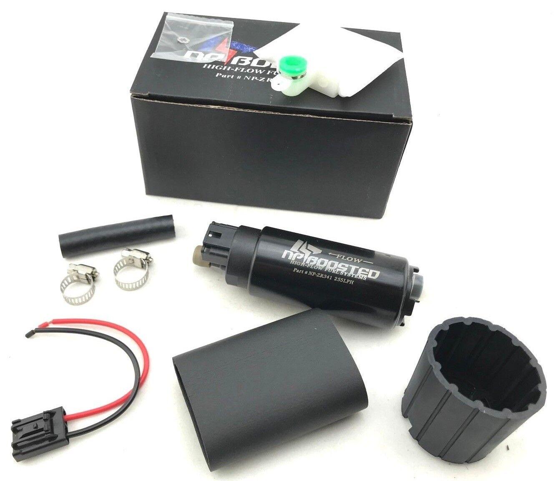 hight resolution of details about hi flow 255lph fuel pump 180sx 240sx sr20det s13 s14 s15 w install kit 400 766
