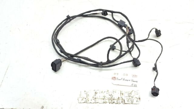 00-05 VW Audi Front Headlight Wiring Pigtail Plug OEM 1j0