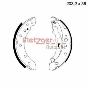 Metzger Brake Shoe Set Rear For PEUGEOT 206 Cc Hatchback