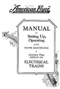 1928 INSTRUCTION & MAINTENANCE MANUAL for Chicago American