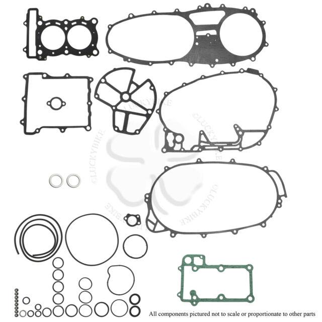 Complete Engine Gasket Rebuilt Kit Upper For Yamaha TMAX