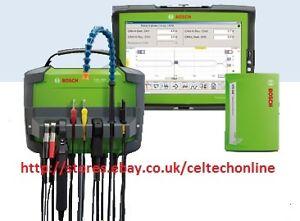 Bosch KTS 890 : DCU 130 Tablet , FSA 500 & KTS 540