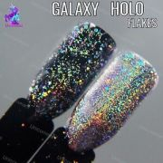 galaxy holo flakes chrome flecks