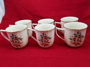 6 Noritake Coffee Mugs 7366 Imperial Platinum Holiday Christmas Accent 12 Oz | eBay