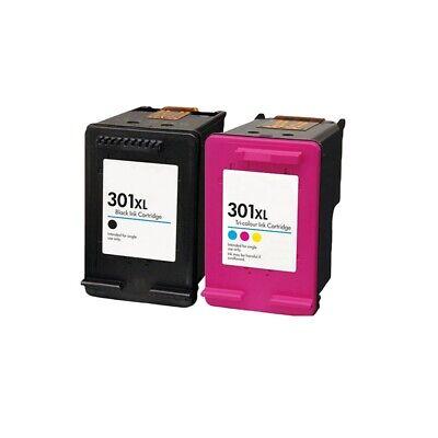 2 Remanufactured Ink For HP Deskjet 2540 2542 2545 2549 3000 3050 3050A 301XL   eBay