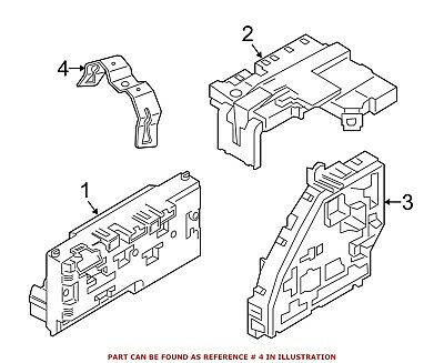 For BMW Genuine Fuse and Relay Center Bracket 61149151324