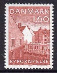 renaissance denmark mnh 1981 urban european