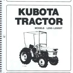 Kubota Wiring Diagram Whirlpool Duet Washer L295 Tractor Operator S Manual W Maintenance List