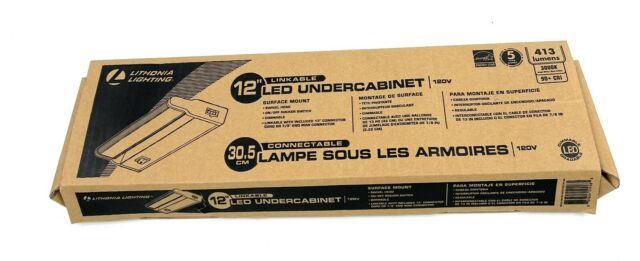 lithonia lighting led linkable cabinet light swivel design 3000k white 12