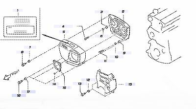 Nissan 13525-16A01 Grommet for Timing Belt Cover CA16 CA18