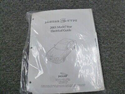 2001 jaguar stype sedan electrical wiring diagrams manual 30l v6 40l v8   ebay