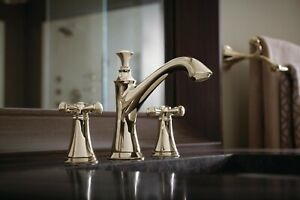 details about brizo baliza 65305lf pnlhp polished nickel widespread bathroom faucet less handl