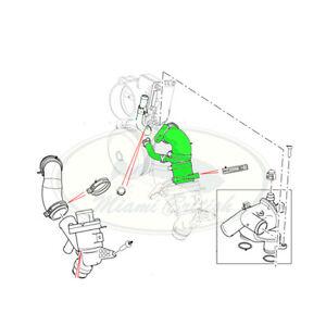 LAND ROVER THERMOSTAT TO ENGINE TUBE RANGE LR4 RR SPORT 5