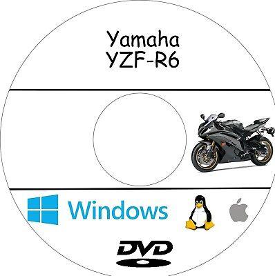 Yamaha yzf-r6 workshop manual-service repair and