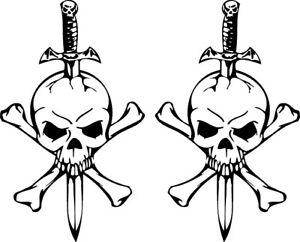 RC airbrush stencil/ paint masks skull & cross bones
