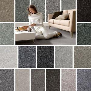 Grey Carpet Cheap Grey Carpets Twist Saxony Pile Grey Carpets Action Backing Ebay