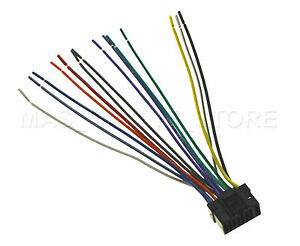 alpine cda 9856 wiring diagram pontiac g6 radio wire harness for cda9856 pay today ships ebay image is loading