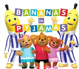 Bananas In Pyjamas T Shirt Value Iron On Transfer 1 For White Cotton 9x8cms Ebay
