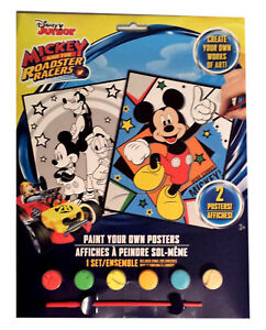 Mickey Mouse Paint Game : mickey, mouse, paint, Mickey, Mouse, Roadster, Racers, Craft, Pictures, Paint