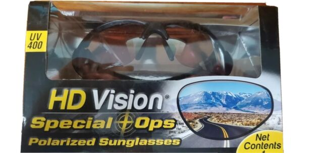 HD Vision Special Ops Polarized Men's Sunglasses for sale ...