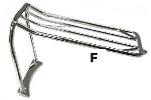FENDER LUGGAGE RACK 2006-08 DYNA FATBOB & WIDE GLIDE MODEL
