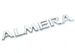 Genuine New NISSAN ALMERA BOOT BADGE Rear Emblem For N16