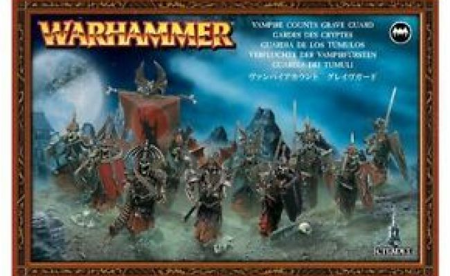 Vampire Counts Grave Guard Warhammer Age Of Sigmar
