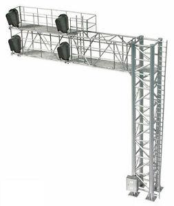 BLMA HO Scale Modern Cantilever Right Hand Signal Bridge