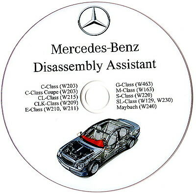 Mercedes Benz Disassembly Assistant Workshop Manual W210