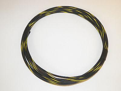 AUTOMOTIVE WIRE 18 GAUGE HIGH TEMP GXL 25 FEET BLACK/YELLOW MOTORCYCLE CAR TRUCK 689860355736 | eBay