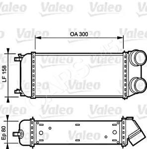 PEUGEOT 206 CC SW Hatchback 1999- Intercooler VALEO 1.6-2