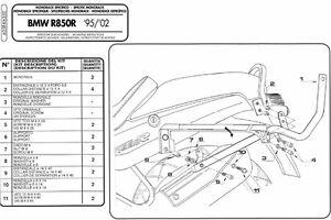 635F GIVI ATTACCO BAULETTO MONOKEY-MONOLOCK per BMW R 1100