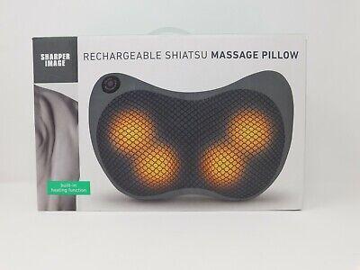sharper image shiatsu massage pillow