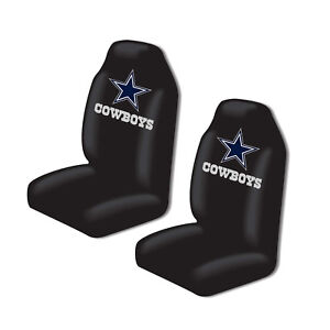 dallas cowboys chair cover gaming chairs for xbox one new nfl 2 front universal fit car truck bucket seat image is loading