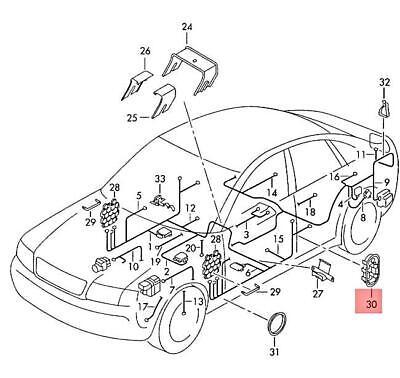Genuine AUDI VW SKODA SEAT A3 S3 Sportback Lim. quattro