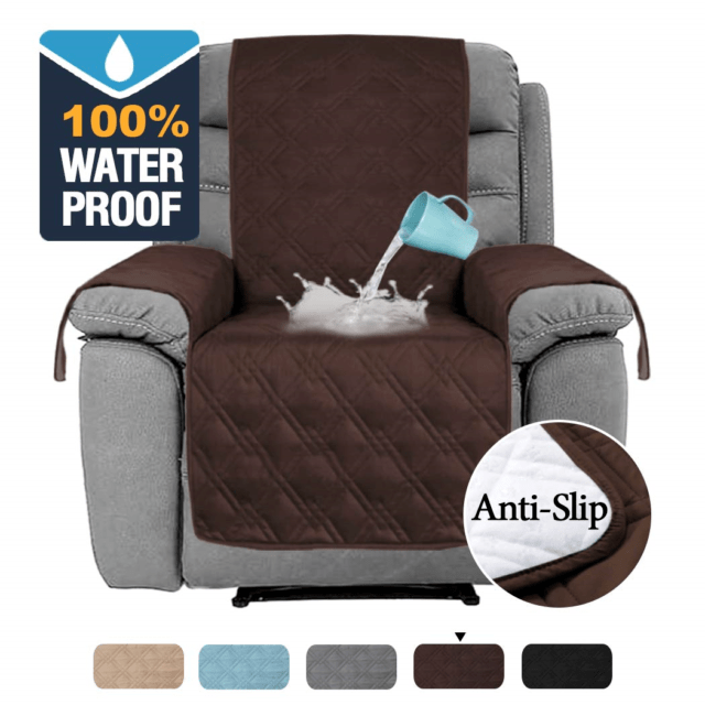 h versailtex 100 water proof oversized recliner chair covers furniture cover up