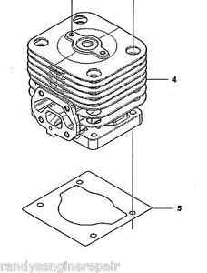 Husqvarna Piston & Cylinder Kit Assy 150 350 BF BT Blower