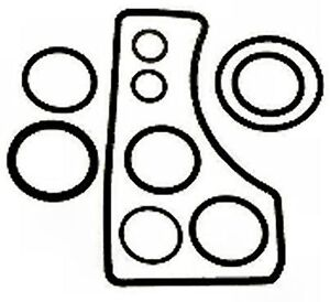 Outdrive Bell Housing Gasket O-Ring Kit for Bravo replaces