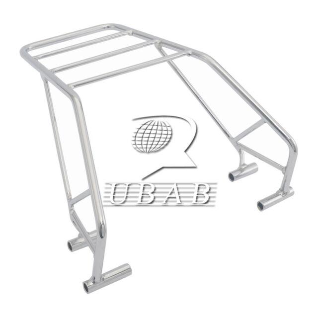 Big Chrome Mutazu Rear Luggage Rack For Honda Nighthawk CB