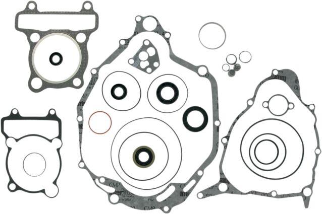 Moose Complete Gasket Kit w/ Oil Seals for YAMAHA 1992-07