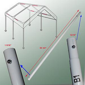 Cross Brace Pole 58 34 For 10X20 Caravan Canopy Domain