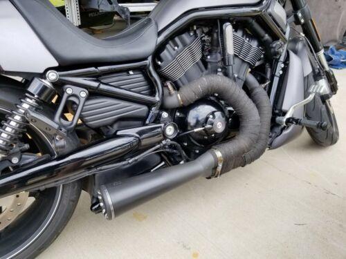 danmoto highwayman 2 1 full exhaust harley davidson v rod vrsc 12 14 hm18