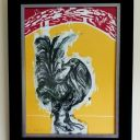 EMILIANO GIRONELLA PARRA SIGNED NUMBERED SPECTACULAR SERIGRAPH MEXICAN + CUERVO